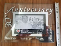 30th Anniversary Picture Frame   Calgary, T3J 3J7