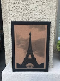 Eiffel Tower cork board Henderson, 89011