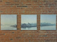 3 piece wall art from ikea NYC skyline St. Catharines, L2R 3M2