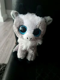 white Ty Beanie Boos animal plush toy North York, M3H