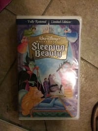 Sleeping Beauty fully restored limited edition VHS