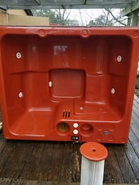 red and black Coleman portable gas stove Warrenton, 20187