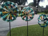 Multi colored yard spinners Clermont, 34711
