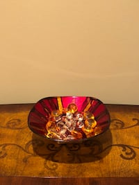 Decorative bowl with acrylic jewels Ashburn