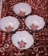 NEW Set of 4 glass bowls  Vancouver, V6P 4G5