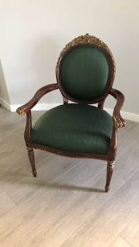 green and brown wooden armchair Tempe, 85284