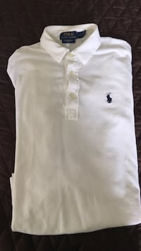 (Men's small) white polo Ralph Lauren  Toronto, M1P 4P5