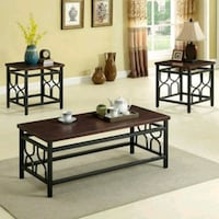 3PC COFFEE TABLE SET BRAND NEW IN THE BOXES  Scottsdale, 85257