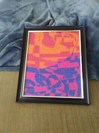 pink and black abstract painting 2233 mi