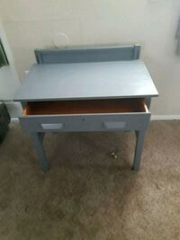 Vintage solid wood study desk Augusta