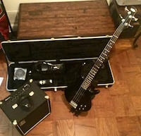 black and brown electric guitar Fort Washington, 20744