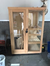 brown wooden framed glass window Swainsboro, 30401