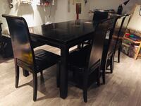 Dining table and chairs Coquitlam, V3B