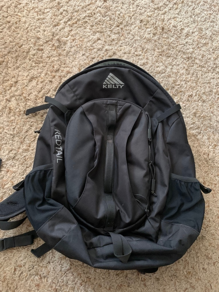 Photo Black Kelty backpack.