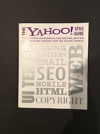 The Yahoo! style guide book Georgetown, L7G 5R9
