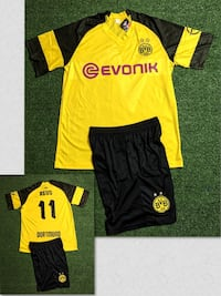 Dortmund # 11 Reus  Soccer uniform jersey & short . New Miami, 33187