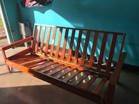 Futon: Solid Wood Frame with mattress Bowie, 20720