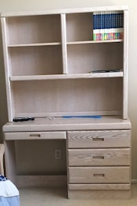 All Wood Desk and Bookshelf Chino Hills, 91709