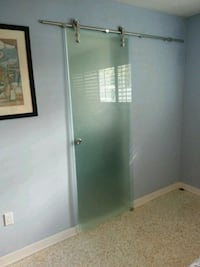 Barn Door Frosted Glass  Miami, 33165