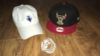 White hat and black/Red Bull's SnapBack with free I-phone headphones  Tampa, 33647