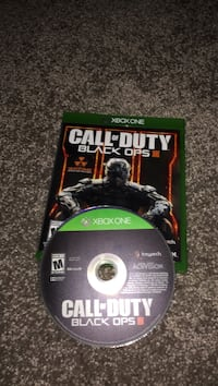 Call of Duty Black Ops 3 Xbox One game disc