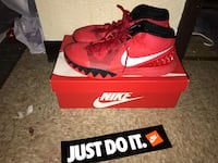 Red and black kyries size 13 North Braddock, 15104