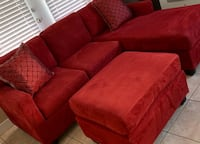 Beautiful Small Sectional with Ottoman  North Las Vegas, 89031