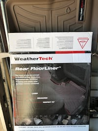 Weather tech floor mats from my 2004 F150 crew cab. They are tan in color