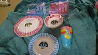 four assorted color of plastic containers Bowmanville, L1C 4X4