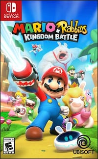 Rabbids Kingdom Battle Anniversary Edition - NINTENDO SWITCH Edmonton