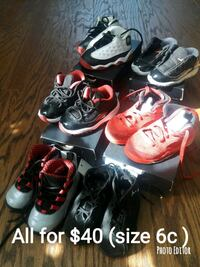 toddler's four pairs of shoes Atlanta, 30328