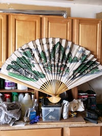 Giant Chinese Silk Fan