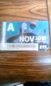 November bus pass Edmonton, T5B 1B3
