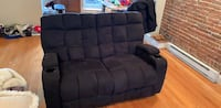 Amazing 2 seat recliner w/ cup holders and storage Boston, 02127