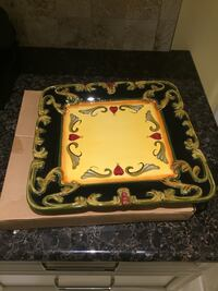 Large Square Serving Plate Toronto, M2J