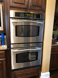Stainless steel double wall ovens Lantana, 76226