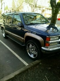 Chevy GMC 20 - 22 inch rims and tires Vancouver, 98686
