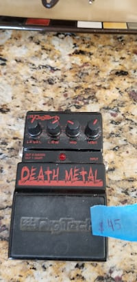 Death Metal ..have about ten other pedals for sale