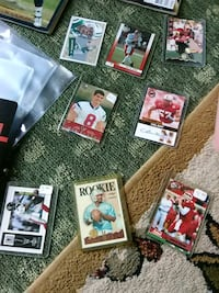 assorted footballball player trading cards Maryville, 37801