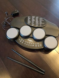 Tabletop Electronic Drum Set - Ion Discover Drums. Learn to play drums
