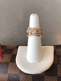 Multi Layer Gold Filled Ring Size 6 NEW Gainesville, 20155