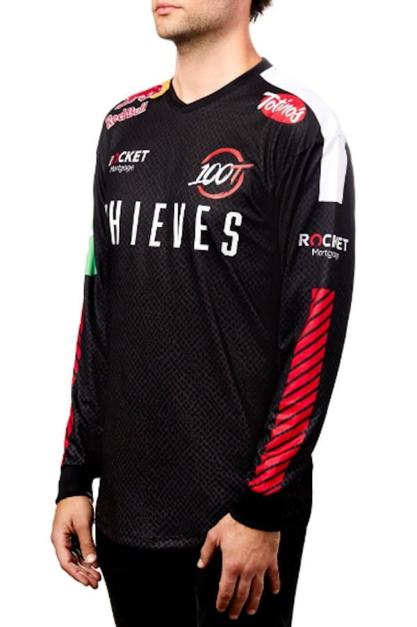 100 Thieves 100T 2019 Championship Jersey Size Small 8a301209-ae83-497a-bcd1-4bba628f2b07
