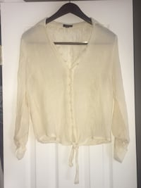 Cute Button Down Top, Size Medium Ashburn, 20147