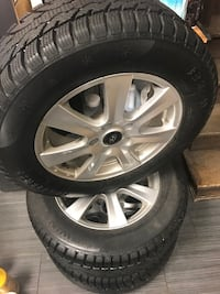 Winter tires with rims 215/65/16 Toronto, M1L