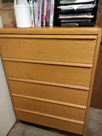 brown wooden 4-drawer chest Olympia, 98506