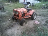 sears twin cylinder garden tractor with mow deck Lacombe