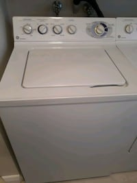 GE washer and dryer in great condition connected so you see it working