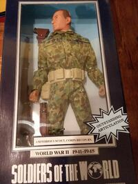 Soldiers of the World action figure with box Hagerstown, 21742