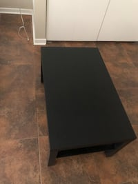 IKEA black coffee table good condition Chicago, 60654