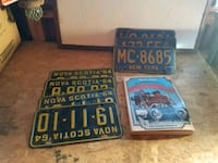 licence plate collection Ontario, 14519